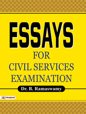 Essays for Civil Services Examination (PB)