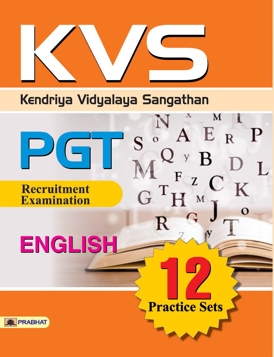 KVS PGT Recruitment Examination English 12 Practice Sets (PB)