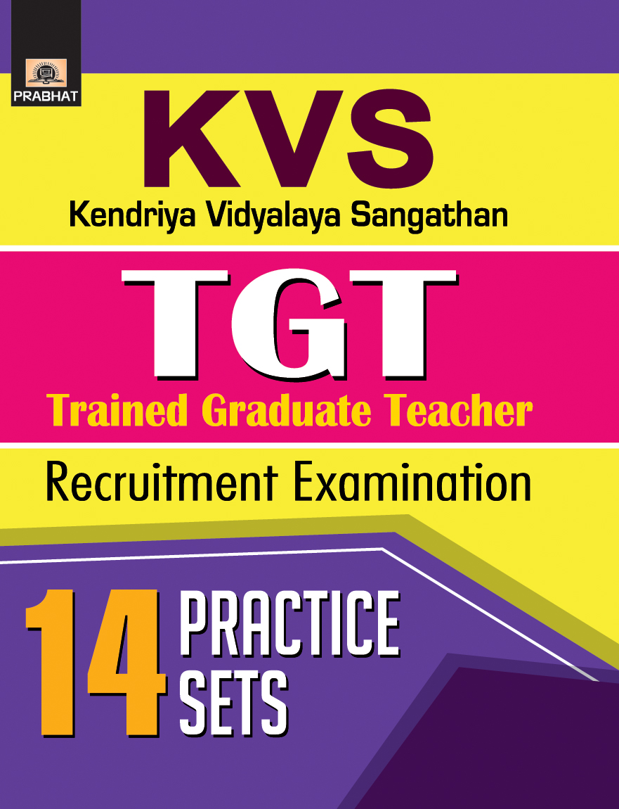 KVS TGT (Trained Graduate Teacher) Recruitment Examination 14 Practice Sets (PB)
