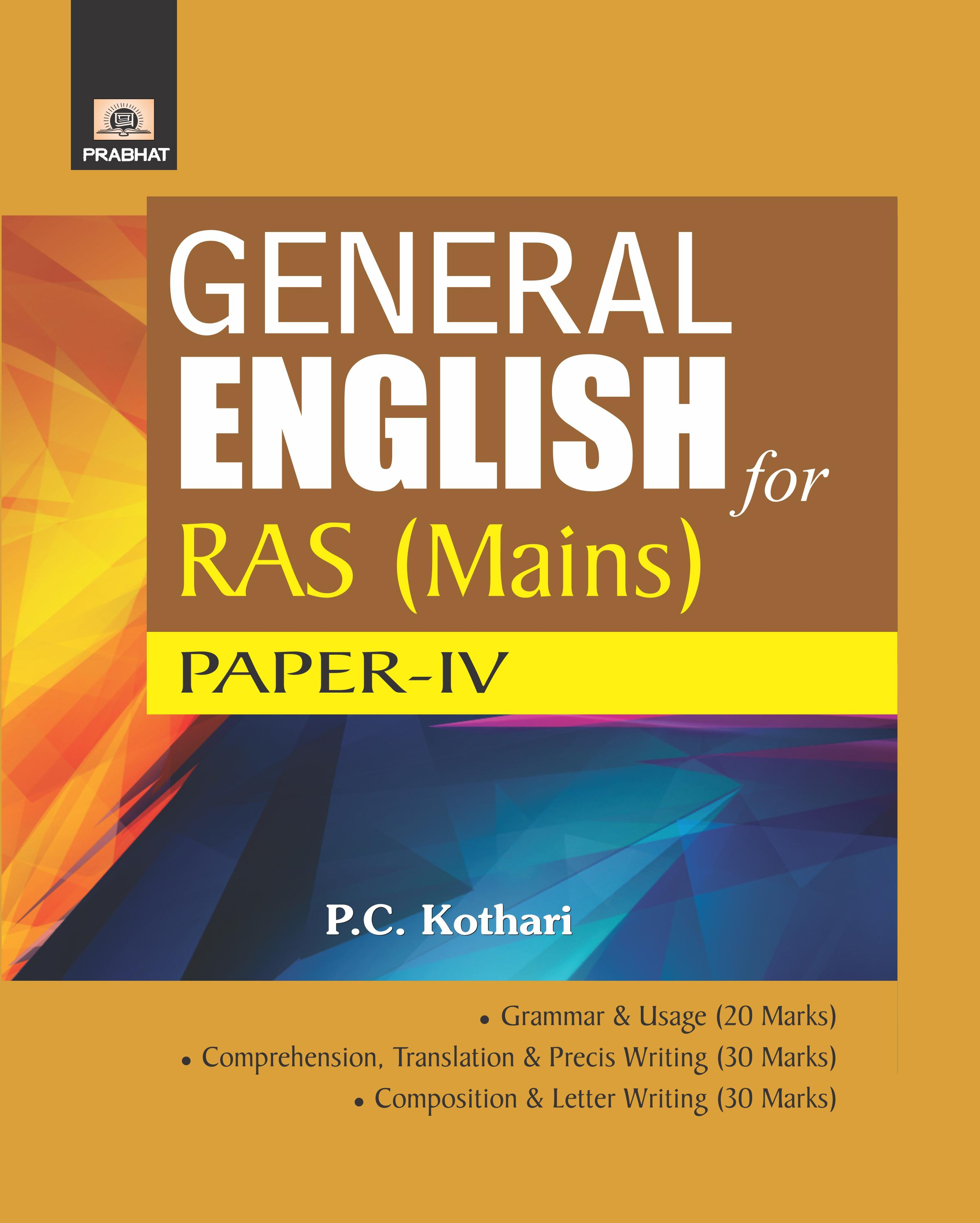 General English For RAS Mains (PB)