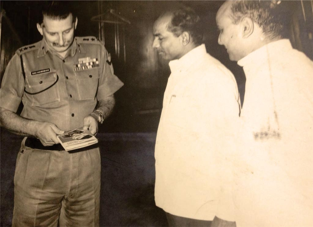 'Field Marshall Manekshah' Book Launch